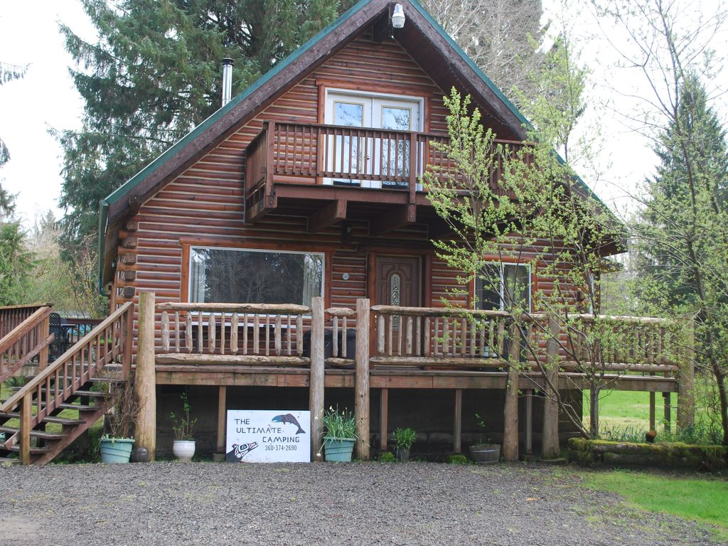 Cabin From He Front Drive
