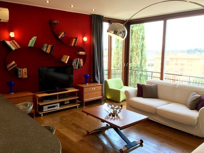 Photo for View over the St. Peter 's Basilica - Modern apartment in Rome