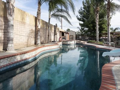 Photo for Private, Secluded, 4 bed 3 bath Pool home.  Close to all attractions.
