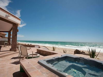 Photo for OCEANFRONT LUXURY in Las Conchas, 4 bd/3 ba, jacuzzi, bbq, sleeps 8+