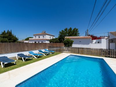 Photo for Peaceful Home Casa Carlos with Pool, Terrace, Garden & Wi-Fi; Parking Available