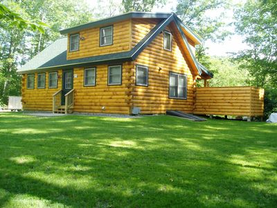 Photo for Cozy, Intimate, Rustic Luxury w/ Modern Conveniences & Log Cabin Charm