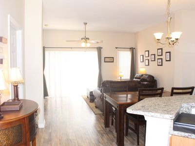 Photo for 3 Bed 2.5 Bathroom Townhome with south facing patio, spa & lake view at Terra Verde Resort