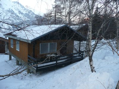 Photo for Detached chalet on the slopes and near the village, for winter sports & summer holidays