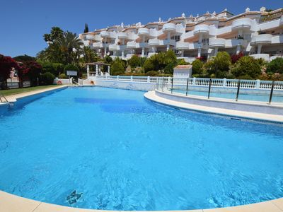 Photo for Amazing Views, lovely pool, Wi-Fi and restaurants on the complex!