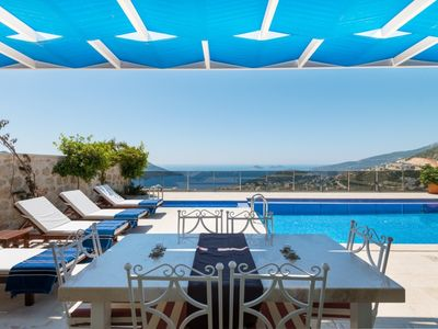 Photo for VILLA MOANA - LUXURY VILLA WITH A FULL VIEW OF KALKAN BAY & PRIVATE POOL