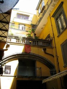 Photo for Sangregorio Flat 2: at home on the old Naples WI-FI