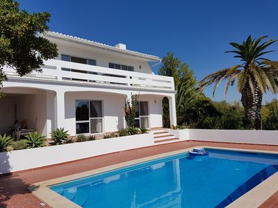 Photo for 3 bedroom villa with pool, fantastic views, quiet and private setting, WIFI