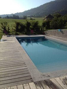 Photo for BEAUTIFUL MODERN VILLA WITH SWIMMING POOL, MOUNTAIN VIEW, 5 MINUTES FROM THE LAKE