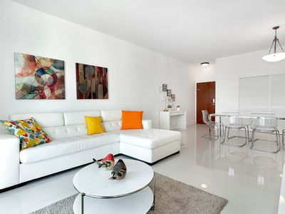 Photo for Pent House - Ocean Front  Condo on Hollywood Beach