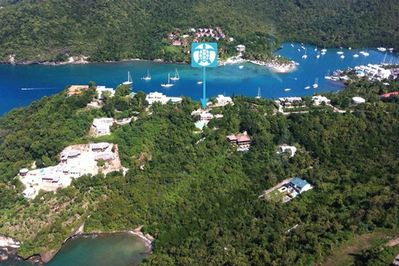 Turtle, Marigot Bay and Trou Rolland cove