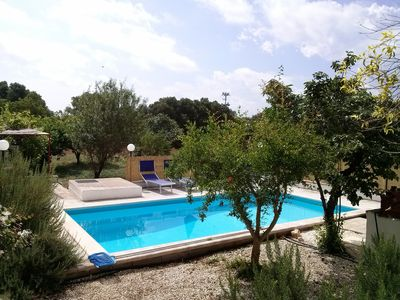 Photo for Ostuni Family Villa Hidden  VERY private pool Discount August Sept