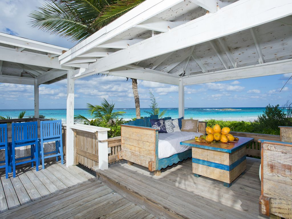 Outside Bar Beautiful New House Directly On Famous French Leave Beach Full