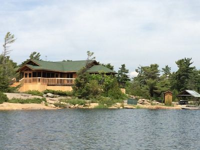 Photo for 4BR Cottage Vacation Rental in Pointe-Au-Baril Station, ON