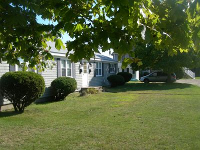 Photo for New listing...Location! Steps to Surf Drive Beach, sleeps 5,deck, yard