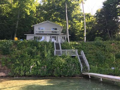 Photo for Gorgeous Waterfront 3 Bedroom Rental on Glen Lake