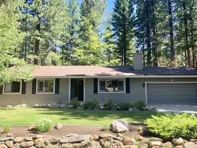 Photo for Updated 3 Bed/2 Bath single level home with great  yard. Walk to Beach & Hyatt!!