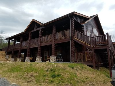 Photo for 12 bedroom, 12 1/2 baths, 2 private heated pools, sleeps 36, home theater