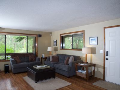Photo for In Camp Sherman enjoy the the Metolius River just steps away from the house.