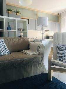 Photo for Charming Rimini - Two-room apartment with veranda between the sea and the center