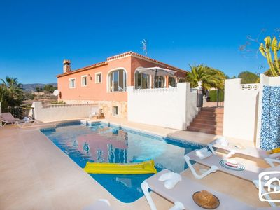 Photo for 8 bedroom Villa, sleeps 16 in Casas de Torrat with Pool and WiFi
