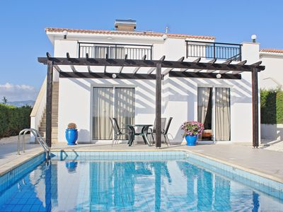 Photo for Villa Kamelia is a two bedroom villa with private pool very close the beach near Argaka