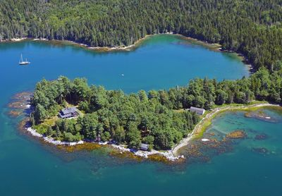 The Punch Bowl cove.......everything you see is part of the property