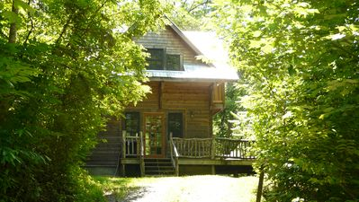 Photo for Comfortable, Quiet Cabin with Private, Scenic Hiking Trails