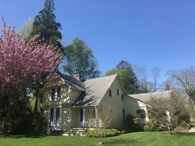 Photo for SHELTER ISLAND: light-filled renovated farmhouse short walk to town and harbor