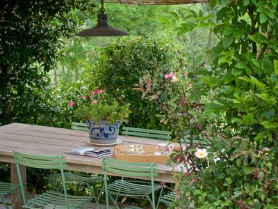 Photo for A corner of paradise in the Tuscan countryside, just outside medieval Lucca.