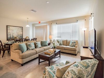 Photo for Near Disney World - Compass Bay - Beautiful Spacious 4 Beds 4 Baths Townhome - 3 Miles To Disney