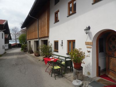 Photo for At the Aicher - FeWo directly on Lake Chiemsee in renovated> 400 years old farmhouse