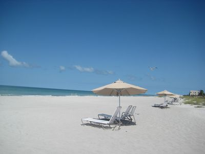 !0 Miles of Soft White Sand Awaits...
