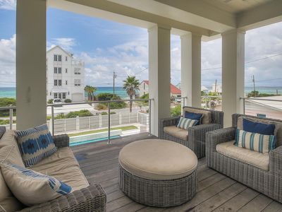 Photo for Gulf Views, Private Pool, Newly Redecorated Designer House, Elevator