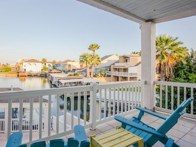 Photo for Spacious, waterfront home w/ private pool - close to the beach!