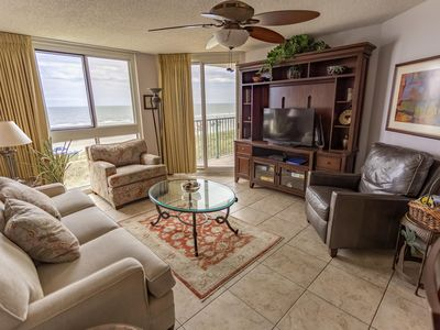 Photo for Direct ocean front condo in the Crescent Beach section of North Myrtle Beach