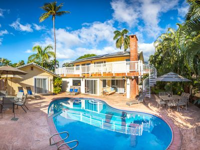 Photo for Private, Gated w/ Pool, 2 min. Walk to Beach and Lahaina, Lush, Aloha Spirit!