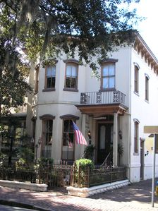 1883 Historic Home fronting on beautiful Forsyth Park