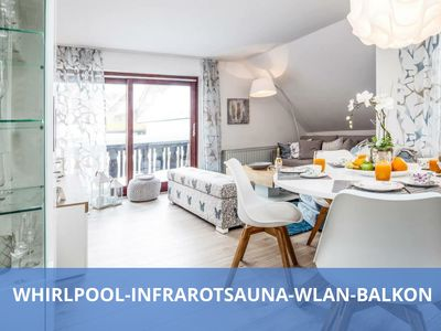 Photo for TOP Location / TOP Facilities │✔ Infrared sauna│✔ Whirlpool│✔ WLAN│✔ Balkon│✔ Loggia