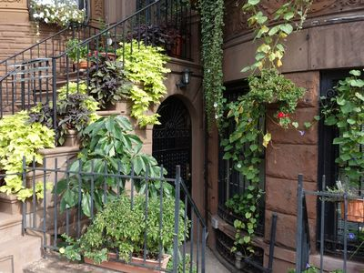 Photo for Charming, Spacious Two-Bedroom Brownstone Apartment with Garden