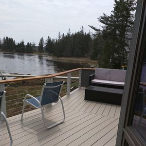 Watch the tides change from this lovely deck