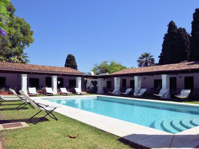 Photo for Spacious villa with private pool in Cortijo Blanco, at 750m from the beach