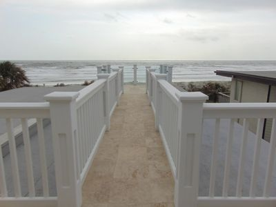Photo for Walk the Plank in this 3 bedroom oceanfront luxury townhome!