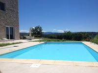 Amazing hilltop hideaway with commanding views of the area and vineyards; who needs Tuscany