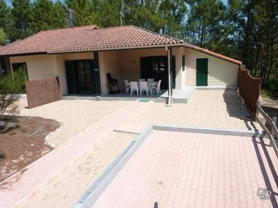 Photo for Pretty Villa 4/6 pers near ocean (1. 3km) and golf in the middle of the pines,