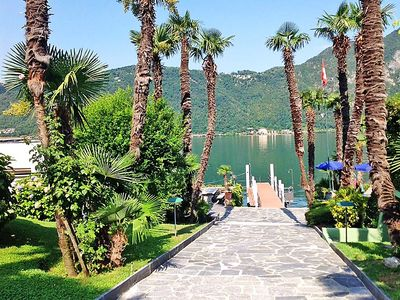 Photo for Apartment Lago di Lugano in Bissone - 5 persons, 2 bedrooms