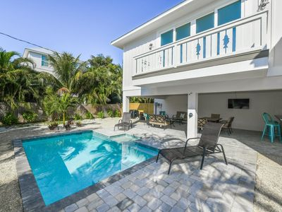 Fins Up! New Home w/Private Heated Pool & 4 Min Walk to Beach