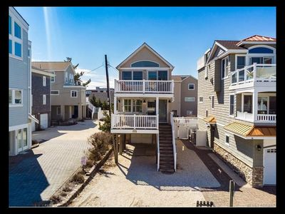 Photo for One off the Beach House with Ocean Views in the Heart of Surf City!