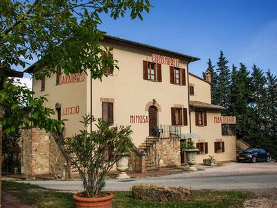 Photo for Agri-tourism Palazzo Bandino, Chianciano Terme  in Arezzo - 6 persons, 2 bedrooms