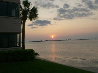 Photo for Waterfront First Floor Condo-Totally updated!!! Guaranteed to see Dolphins!